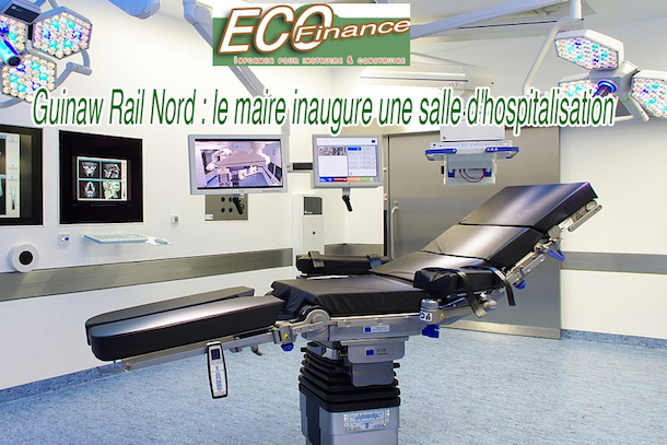 Guinaw Rail Nord : le maire inaugure une salle d'hospitalisation