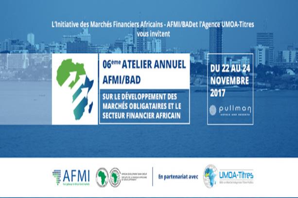 Marché financier : L'AFMI/BAD organise avec l'Agence UMOA-Titres le 6ème atelier annuel sur le développement des marchés financiers