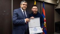 Leo Messi nommé ambassadeur de l'Organisation mondiale du tourisme pour le tourisme responsable