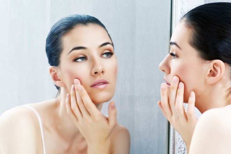 Évitez de toucher votre visage à longueur de journée
