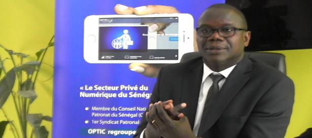 Antoine Ngom, préident OPTIC.