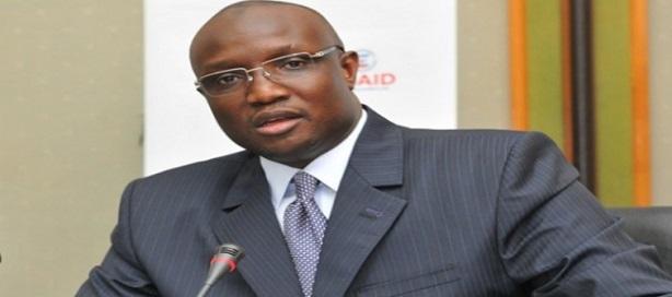 Makhtar Cissé, directeur général Senelec qui vient d'avoir le résultat de sa première cotation en Bourse.