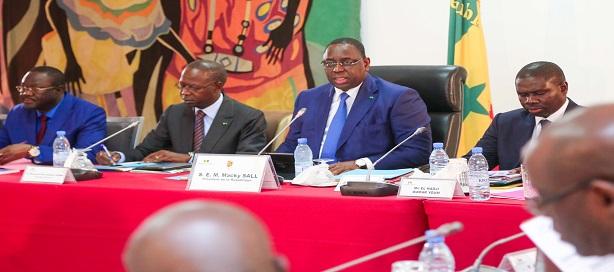 Communiqué du Conseil des ministres sénégalais du mercredi 27 mars 2019