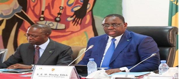 Communiqué du conseil des ministres du Sénégal du mercredi 17 avril 2019