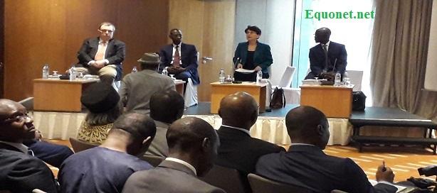 Présentation du rapport Fmi sur les perspectives économiques régionales en Afrique subsaharienne.