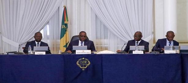 Communiqué du conseil des ministres du Sénégal du mercredi 08 mai 2019