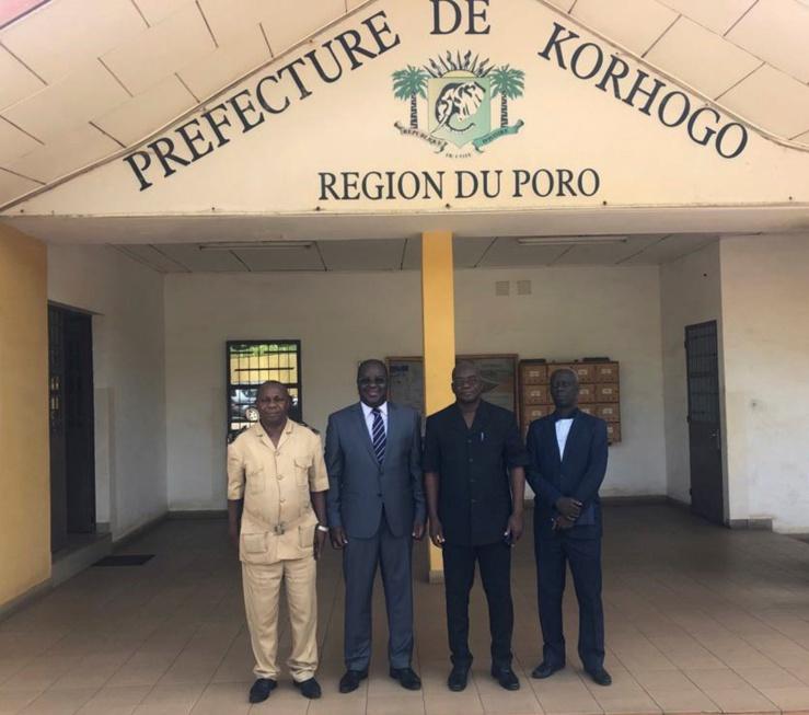 Préparation à la mise en place d'une bourse des matières premières agricoles en Côte d'Ivoire