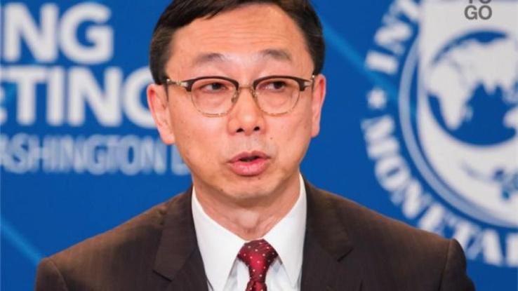 Tao Zhang, directeur général adjoint et président par intérim du Fmi.
