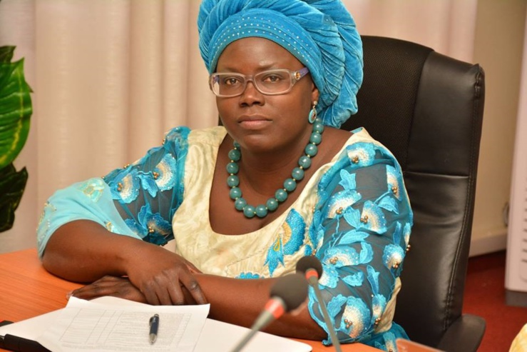 Assome Aminata Diatta, ministre sénégalais du Commerce et des PME