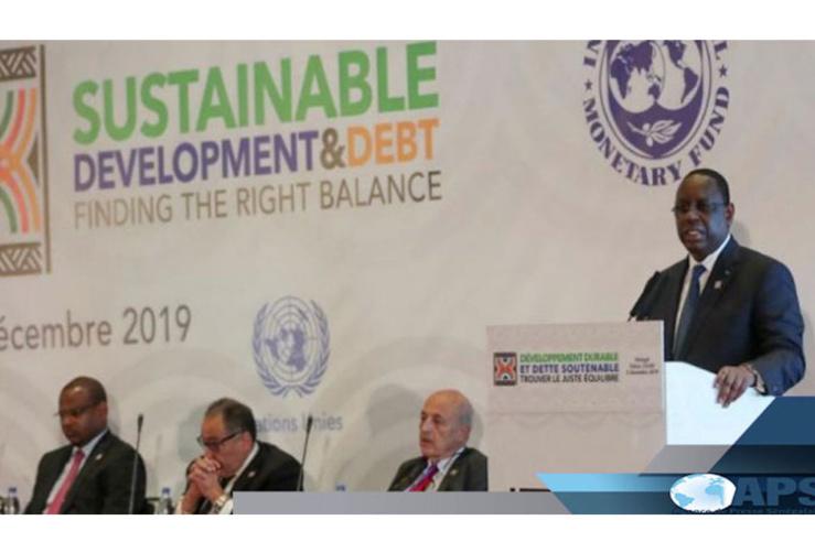 Les 7 points du consensus de Dakar sur la dette soutenable.