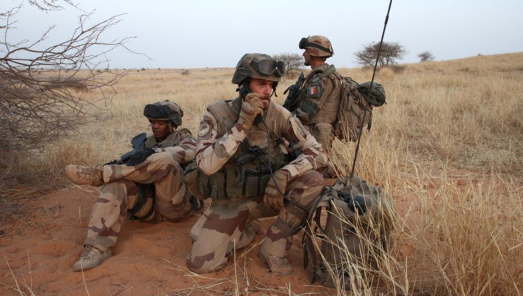 La force Barkhane au Mali.