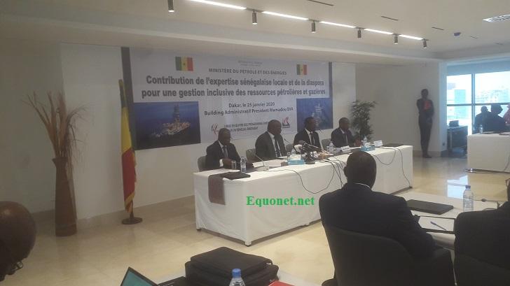 Dans la chaleur de l'expertise sénégalaise de la diaspora spécialisée dans l'industrie du pétrole et du gaz.