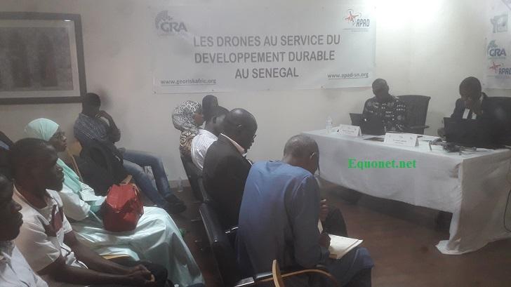 Lancement de l'académie des drones au Sénégal.