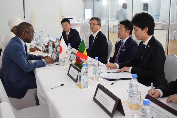 Première édition du Comité économique pour la promotion de l'investissement des entreprises Japonaises au Sénégal .