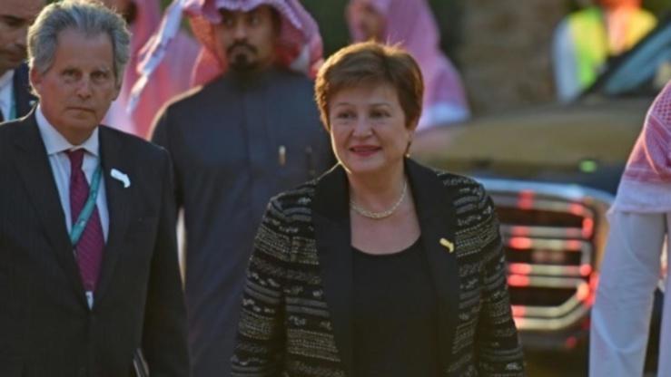 Kristalina Georgieva au sommet du G20 à Riyad.