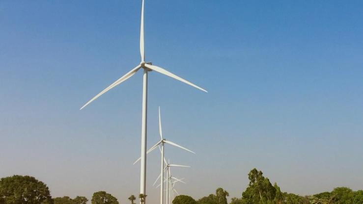 Parc éolien Taïba Ndiaye