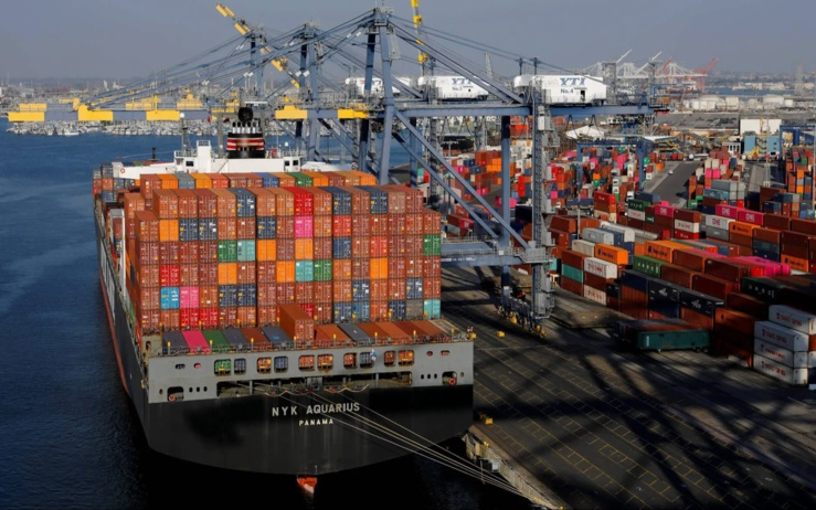 Commerce bilatéral Sénégal avec les pays développés.
