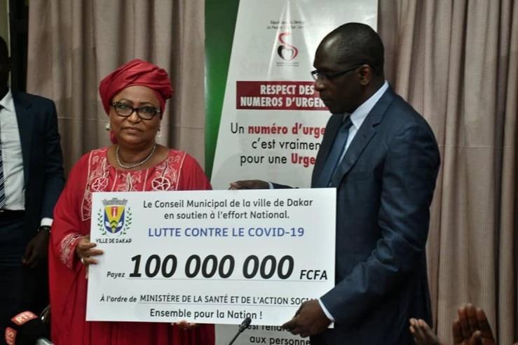 Ville de Dakar : mise en place d'une stratégie municipale de réponse au coronavirus