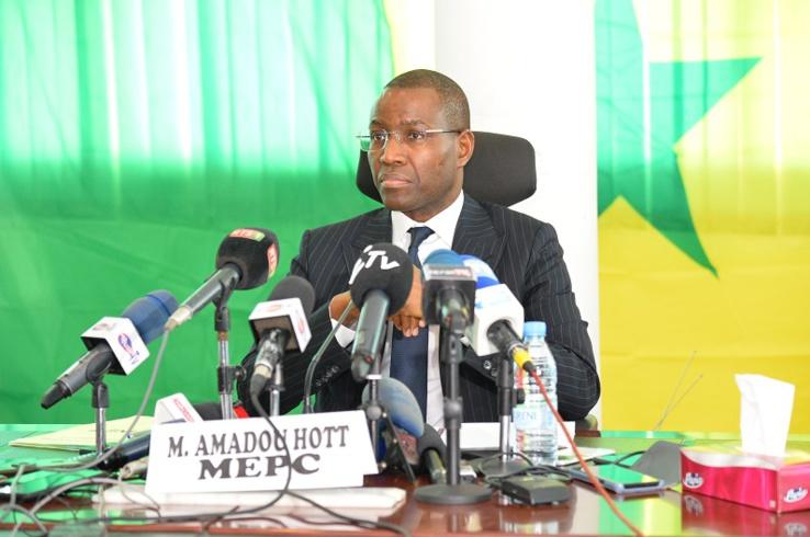 Amadou Hott ministre sénégalais de 'Economie du Plan et de la Coopération
