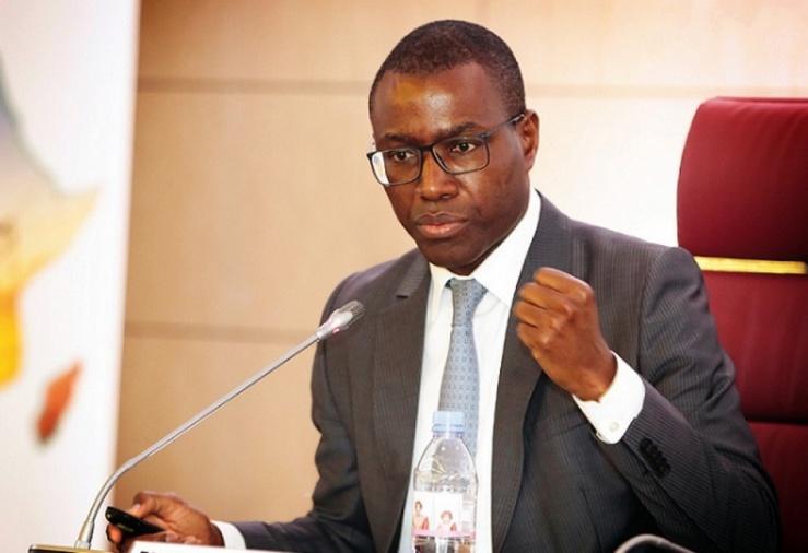 Amadou Hott ministre sénégalais en charge de l'Economie.