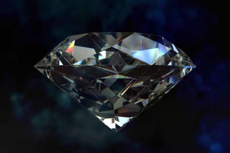 Réserves mondiales de diamants.