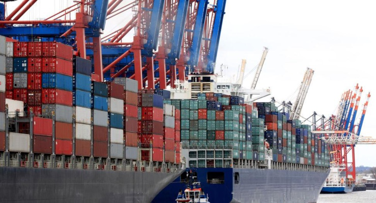 Transports et du commerce à la suite de covid19