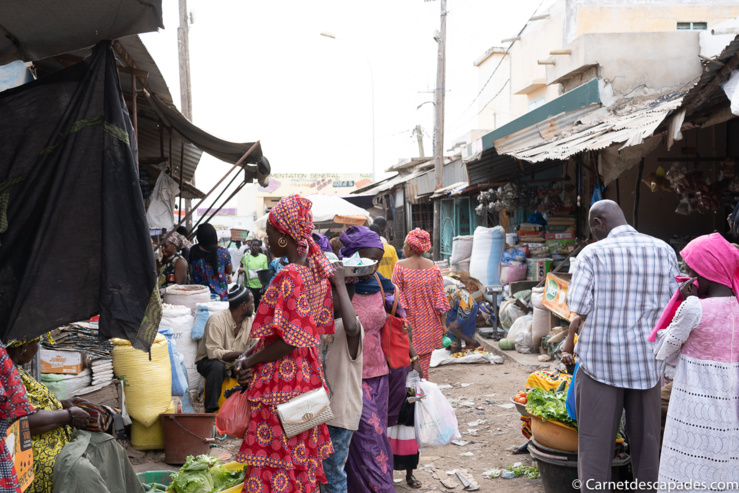 Les marchés sont de potentielles sources de contamination issues de la transmission communautaire.