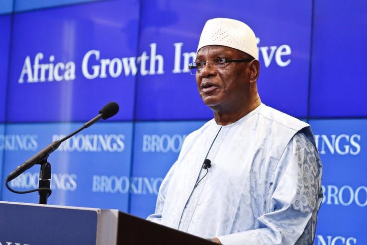 Le président malien  Ibrahim Boubacar Keïta a démissionné.