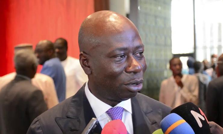 Baïdy Agne, présideent CNP.