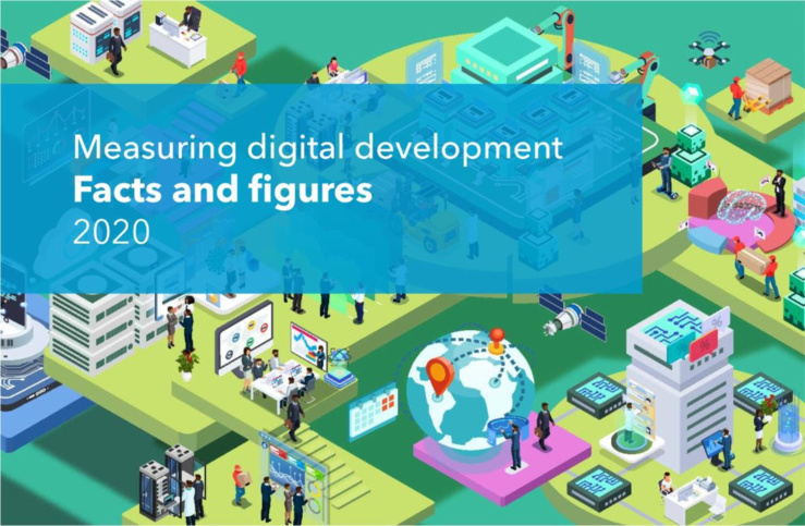"Publication du rapport ""Measuring Digital development: Facts and Figures 2020"""