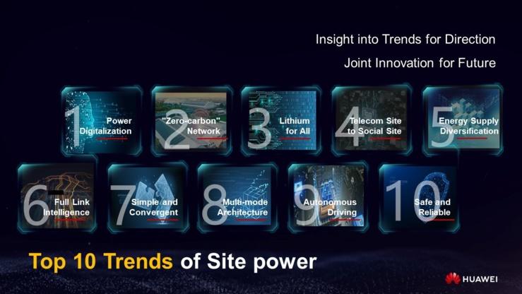 dix tendances dans le domaine de l'alimentation du site.