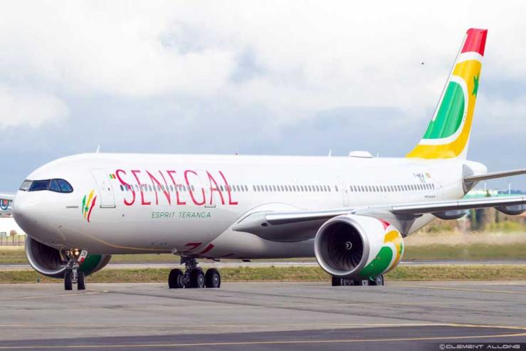 Air Sénégal : réception d'un deuxième  avion de type Airbus A321