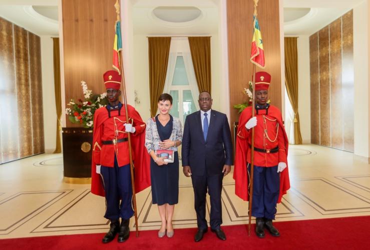La représentante résident de l'Ue au palais de la République du Sénégal.