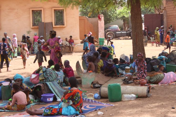 Personnes déplacées internes au Mali.