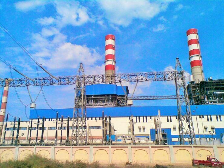Le projet de centrale à vapeur de 1300 MW d'Abu Qir en Égypte.