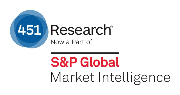 Rapport du cabinet d'analystes 451 Research S&P Global Market Intelligence