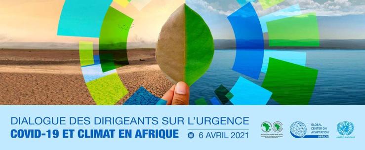 Dialogue virtuel de haut niveau sur l'urgence du covid-19 et du climat en Afrique.