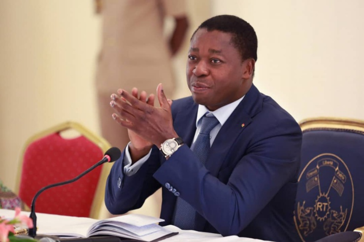 Le président Gnassingbé projette un taux de croissance plus de 4 pour cent en 2021 qui devrait s'accélérer en 2022.