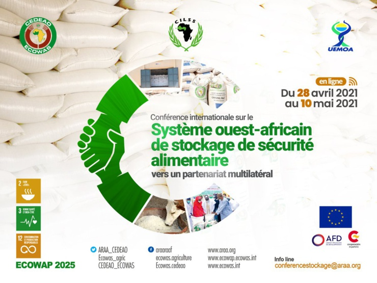 Système régional de stockage de sécurité alimentaire.de la Cedeao.