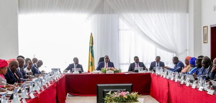 Communiqué du conseil des ministres du Sénégal du mercredi 09 juin 2021