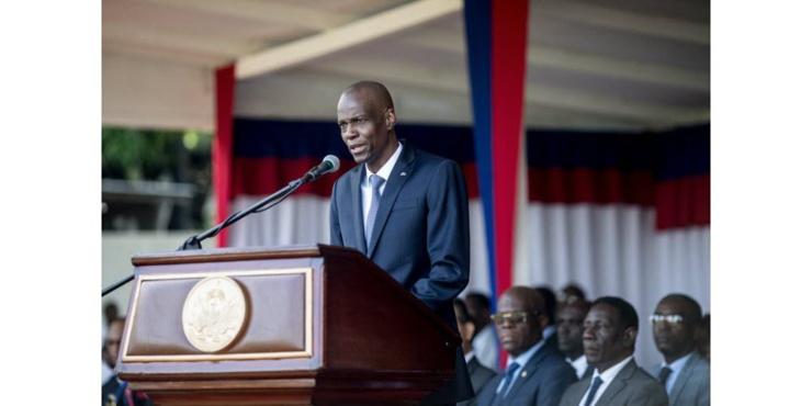 assassinat du président de la République d'Haïti, Jovenel Moïse.