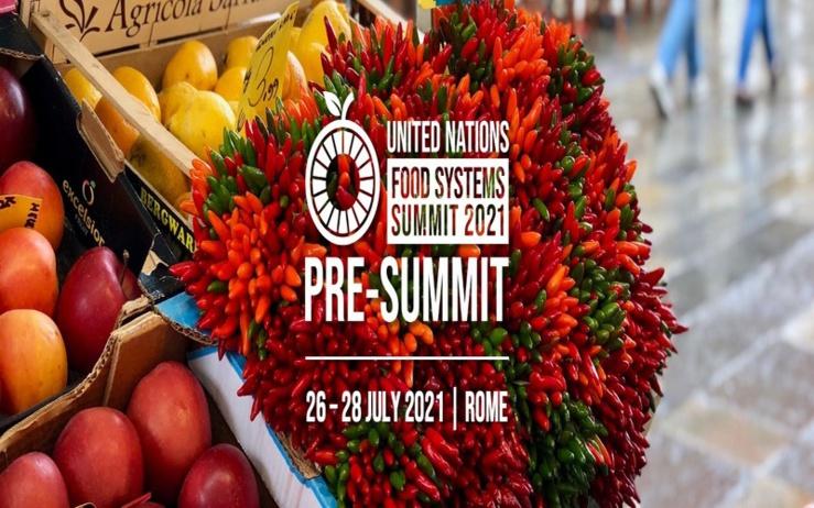 Pré-sommet des Nations Unies sur les systèmes alimentaires.