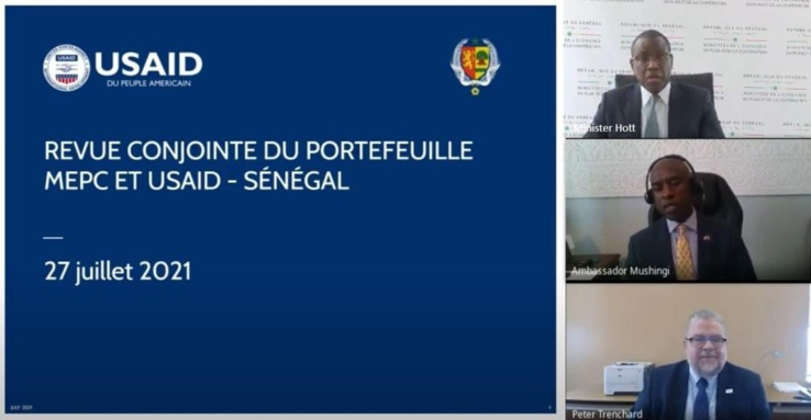Revue conjointe du portefeuille de l'Usaid au Sénégal