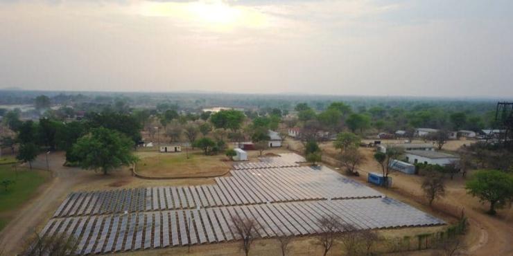 Energies renouvelables au Botswana.