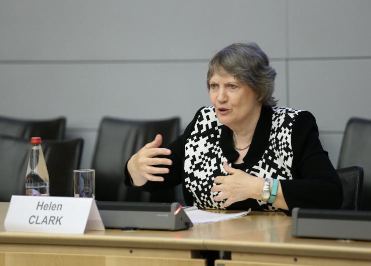 Helen CLARK, Présidente du Conseil d'administration de l'ITIE.
