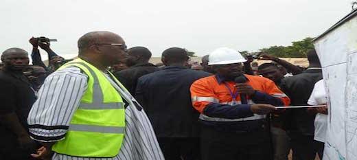 Burkina : la 10ème mine d'or du pays a débuté ses travaux de construction
