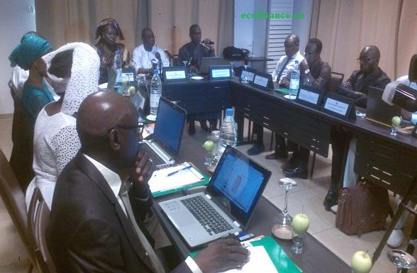 Mahanta Guèye, conseiller technique au ministère en charge de l'Energie, s'exprimant sur les enjeux de l'exploration et la production de pétrole et de gaz.