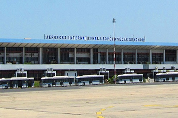 Aéroport International Léopold Sédar Senghor.