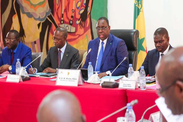 Conseil des ministres du mercredi 03 janvier 2018