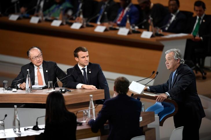 Changement climatique : Jim Yong Kim sera aux côtés de Macron